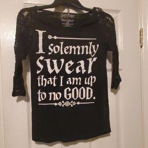 Harry Potter mid-sleeve shirt
